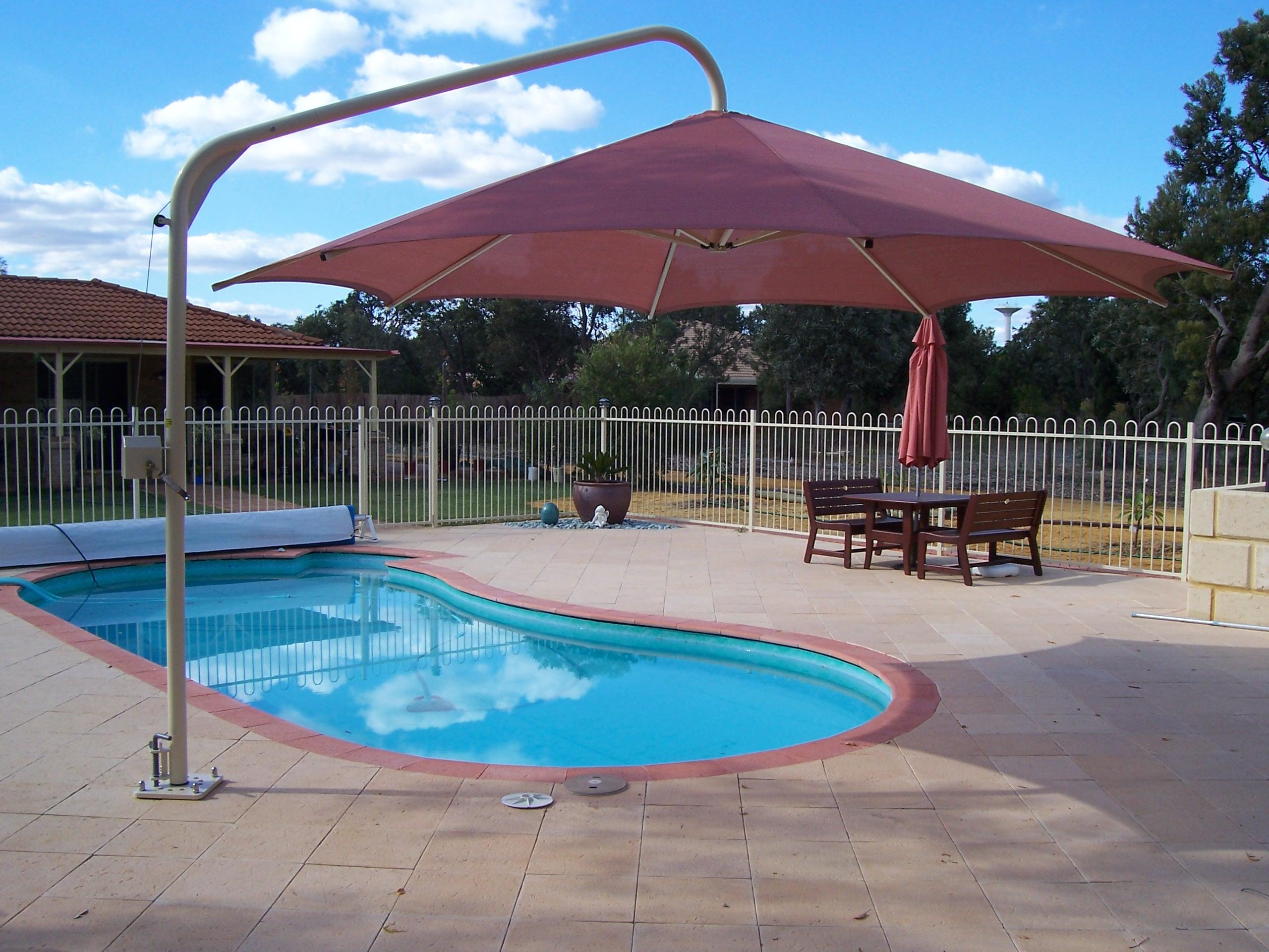 Umbrella Over Sandpit Photo S 004 100 0754