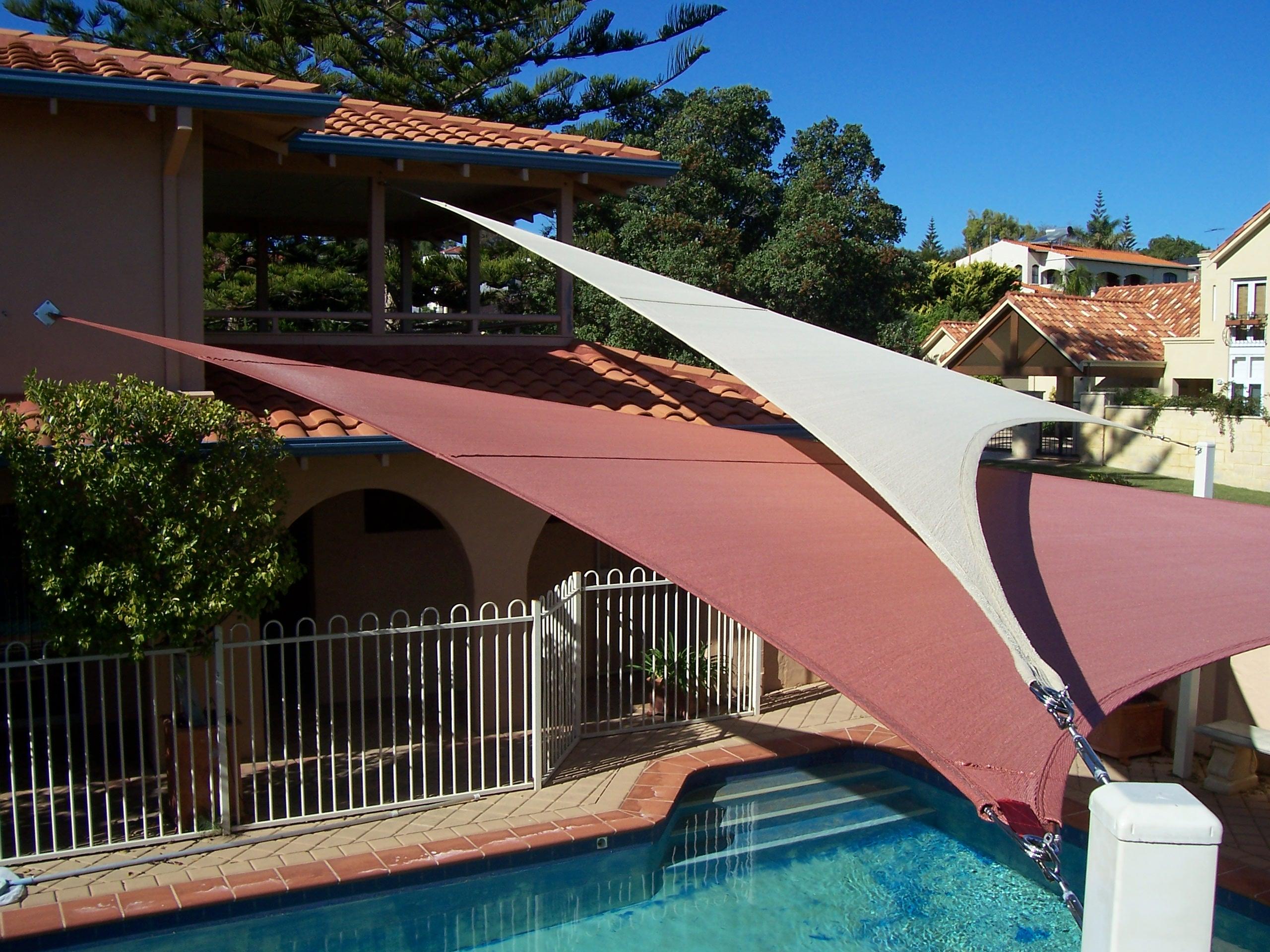 perth shadesails home residential garden shade sails aqua shades