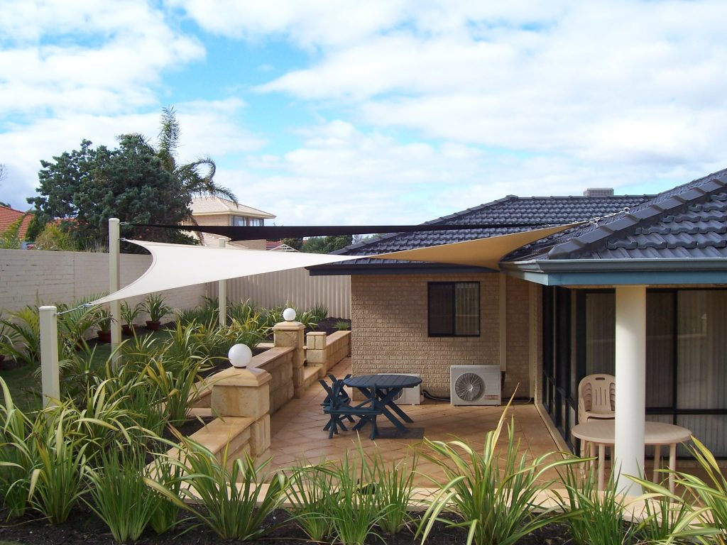 home shade sails carport garden patio sails perth aqua shades. Black Bedroom Furniture Sets. Home Design Ideas