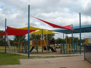 Playground-coloured
