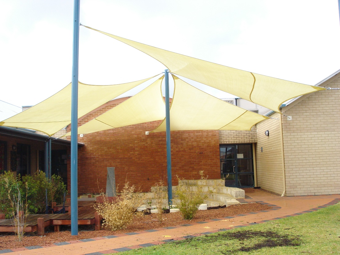 Commercial shade sails perth sun shades car park shade for Sun shade structure
